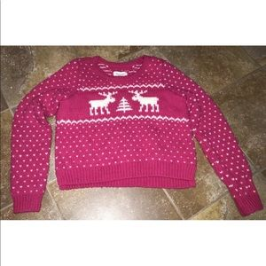 Abercrombie and Fitch Christmas Sweater size large
